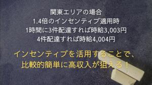【まとめ】出前館配達員の報酬は固定報酬+インセンティブ